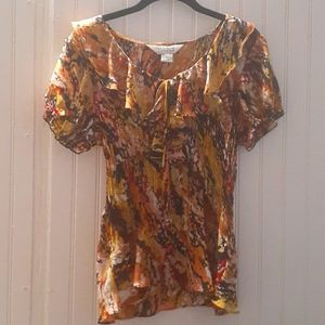 Vintsge Allison Taylor short sleeve blouse